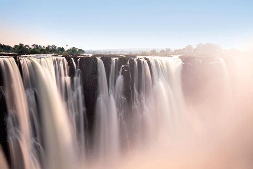 image Zimbabwe Chutes Victoria panorama  it