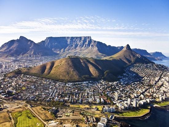 image afrique du sud cap town vue ensemble