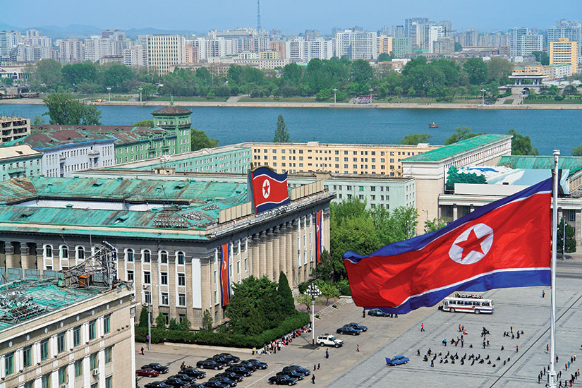 image coree nord pyongyang place kim iI sung  it