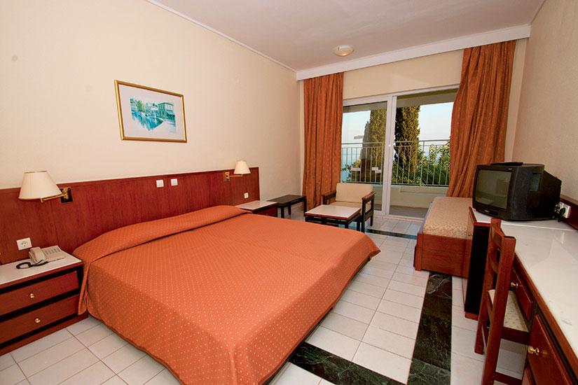 image grece corfou hotel sunshine chambre