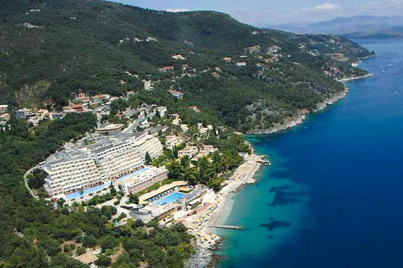 image grece corfou hotel sunshine