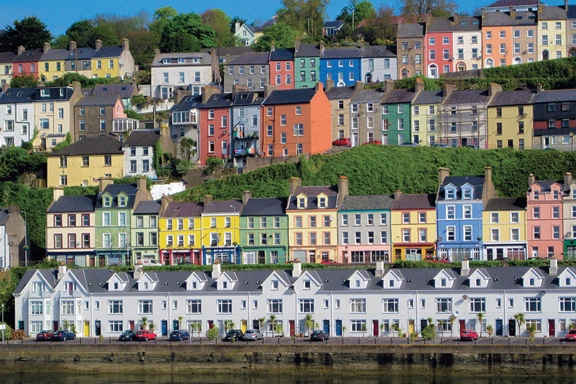 image irlande Cork maisons colorees  fo