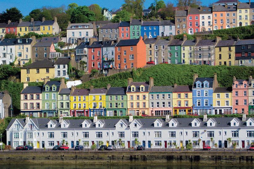 image irlande Cork maisons colorees  fo