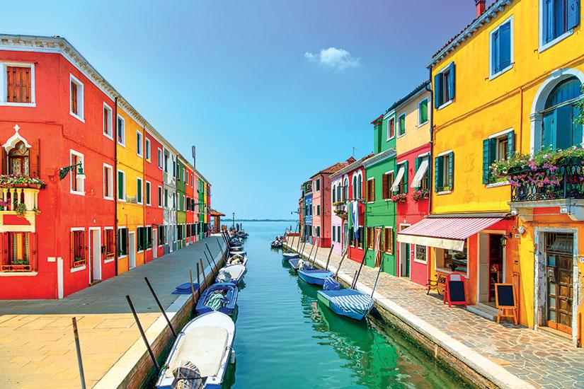 image italie venise canal ile burano  it