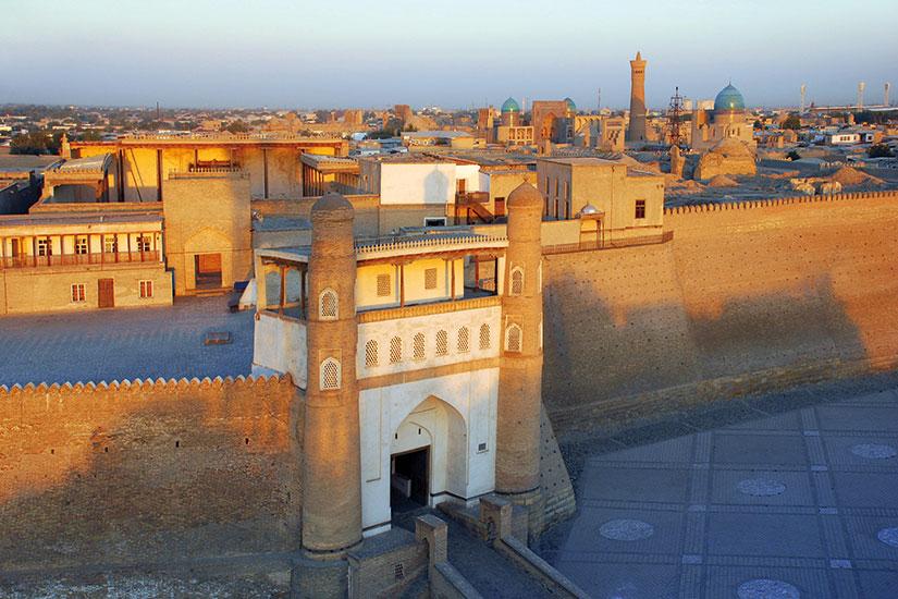 image ouzbekistan boukhara forteresse arche  fo