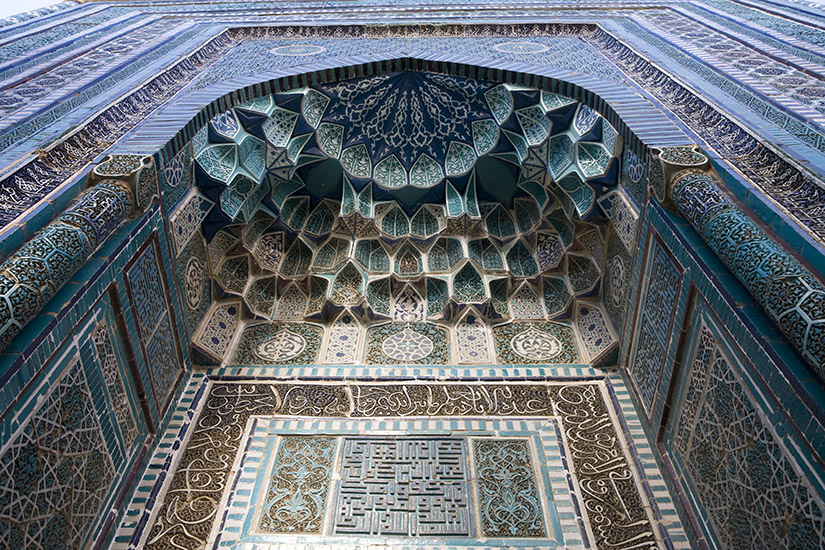 image ouzbekistan samarcande mosaique it_174679566