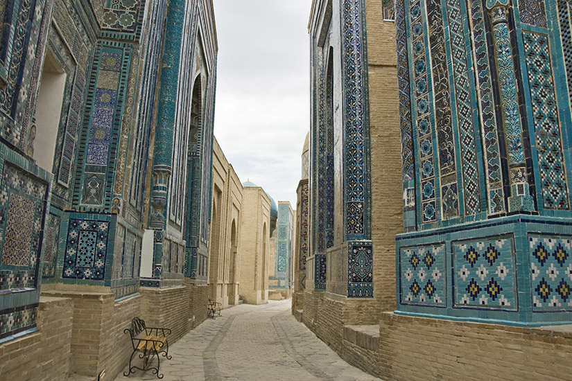 image ouzbekistan samarcande necropole it146713051