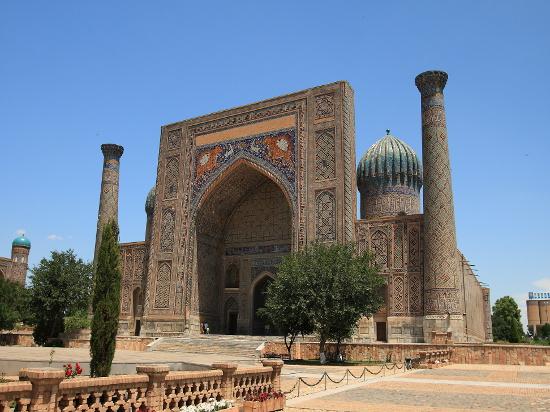 image ouzbekistan samarkand
