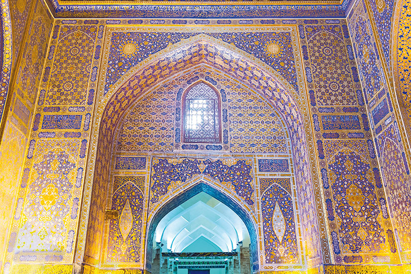 image ouzbekistan samarkand mosquee or  fo