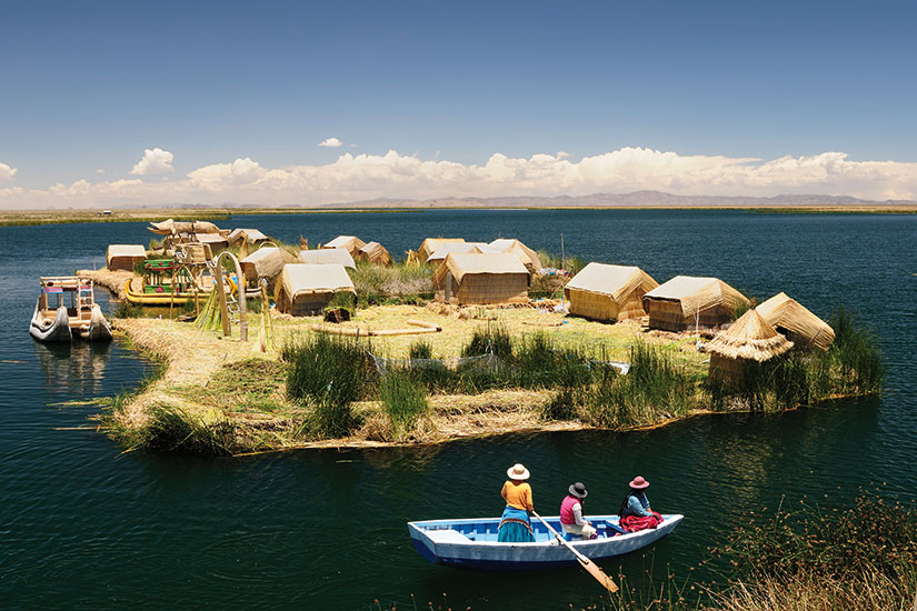 image perou lac titicaca uros  fo
