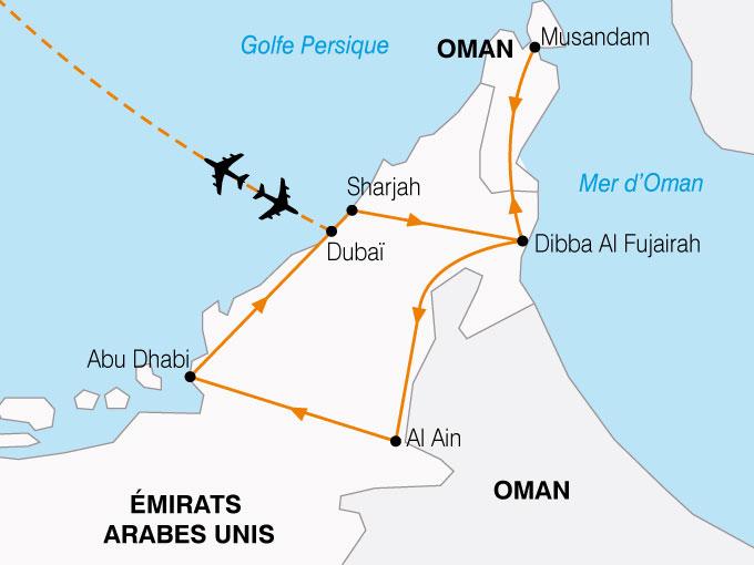 CARTE Emirats Pays Or Noir  shhiver 492119
