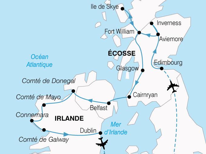 CARTE Irlande Ecosse Magies Celte  shhiver 415517
