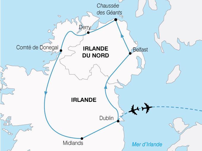 CARTE Irlande Heritage Celtique  shhiver 750211
