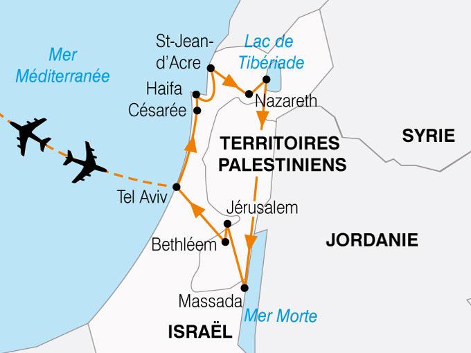 CARTE Israel Decouverte  shhiver 107376