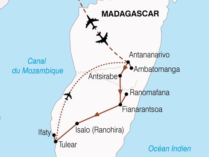 CARTE Madagascar Merveilles Mada  shhiver 218228