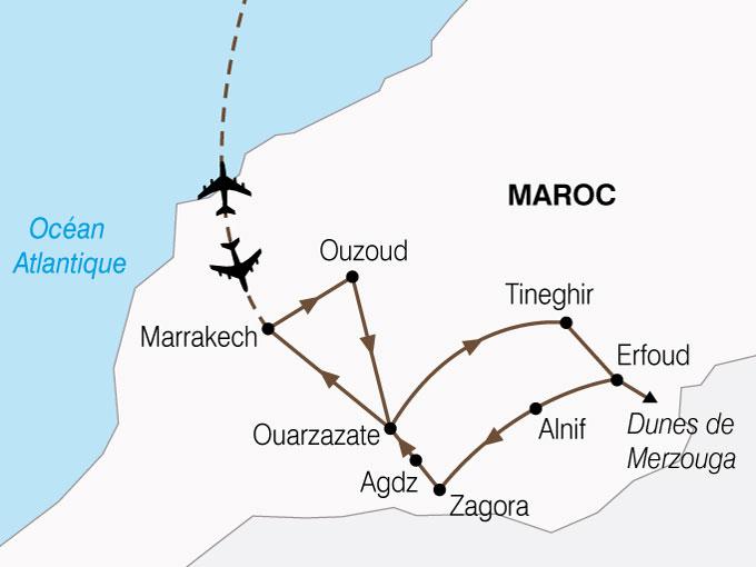 CARTE Maroc Desert Oasis x  shhiver 677147