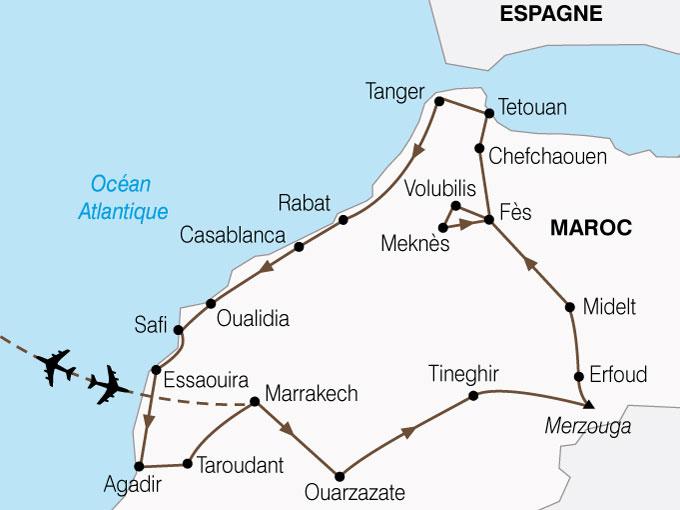 CARTE Maroc Grand Tour  shhiver 535775
