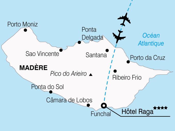 CARTE Portugal Madere Hotel Raga  shhiver 826169