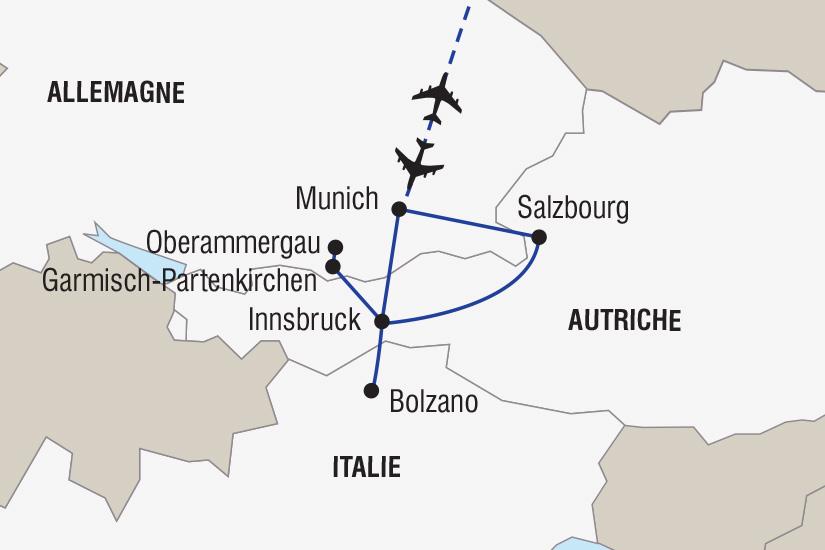 carte Allemagne Les plus beaux Marches de Noel d Europe_306 526111