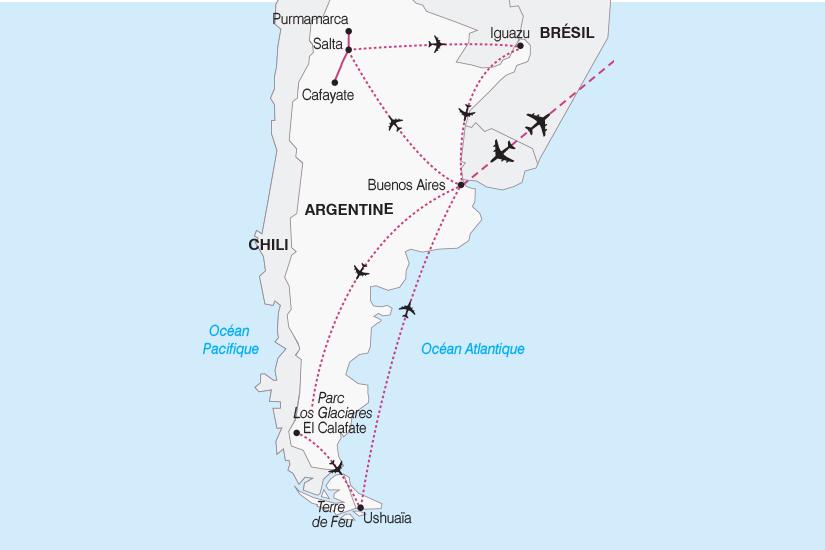 Argentine - Circuit L'Argentine, de l'Altiplano à la Patagonie