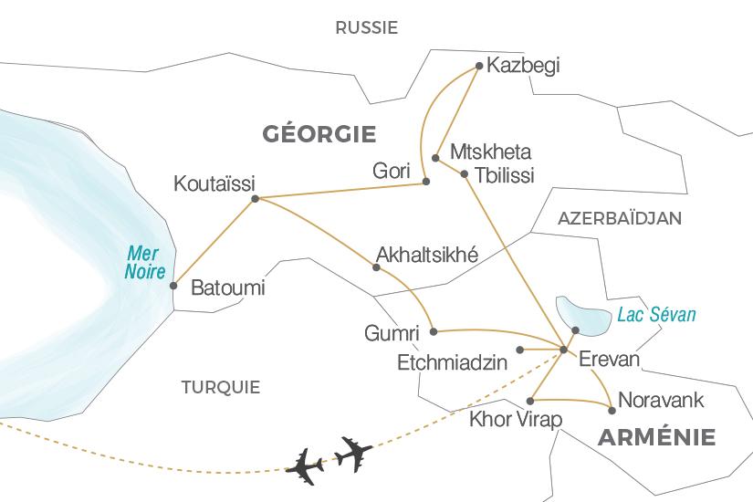 Arménie - Géorgie - Circuit L'Arménie et la Géorgie, Légendes du Caucase