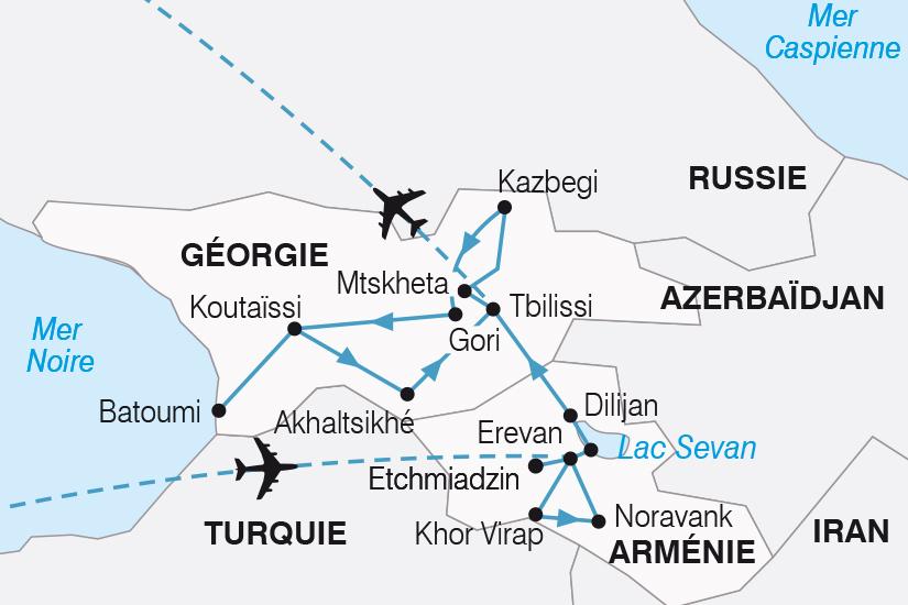 carte Armenie Georgie la memoire du monde SH20_339 132548