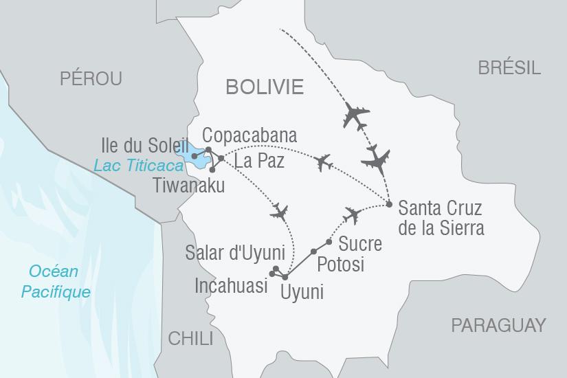 carte Bolivie Tresors de l Altiplano NT19 20_314 331773