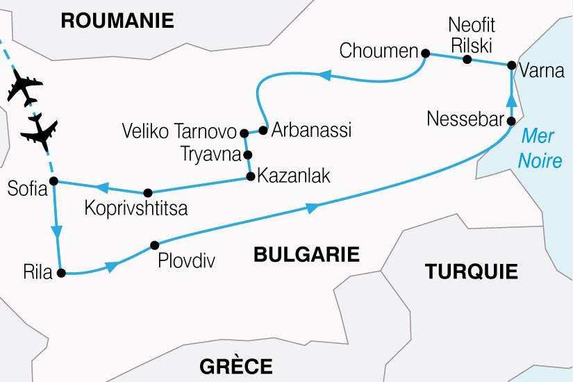carte Bulgarie Decouverte 437654