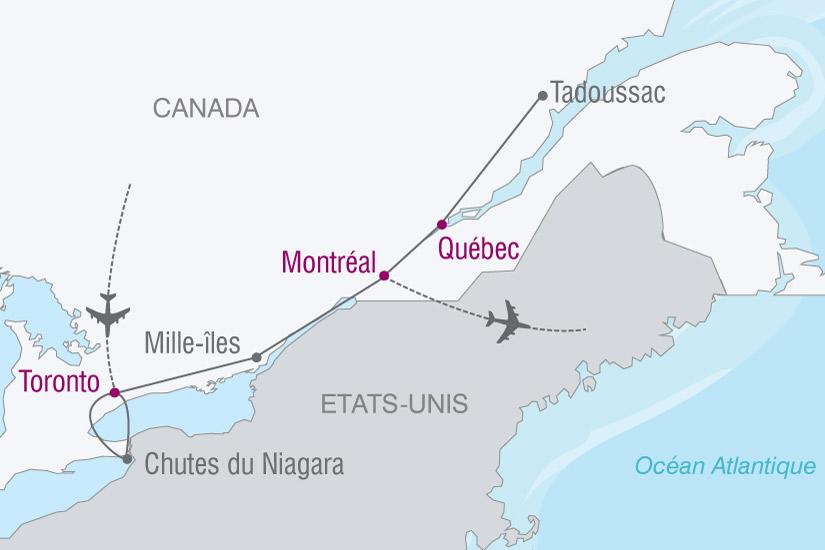 carte Canada Est 662140