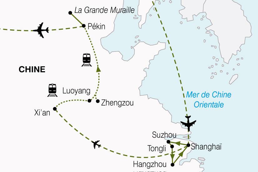 carte Chine Celeste Empire 711645