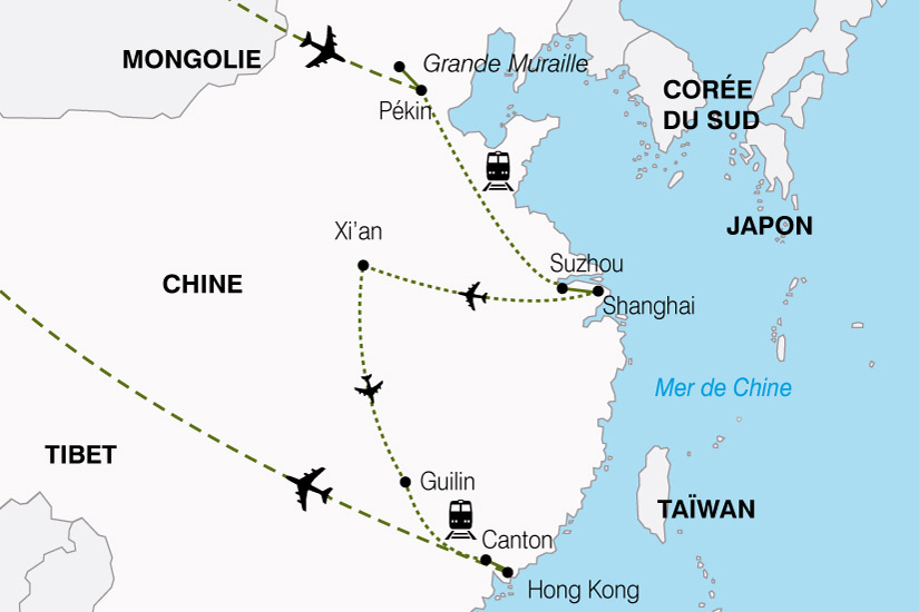 carte Chine Empire Milieu 882556