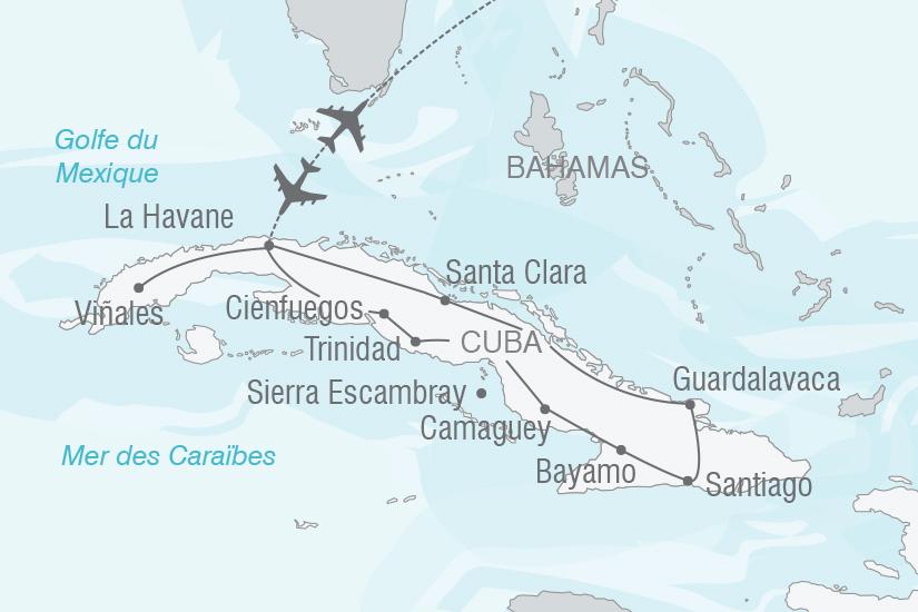 carte Cuba Joyau des Caraibes NT19 20_314 717553