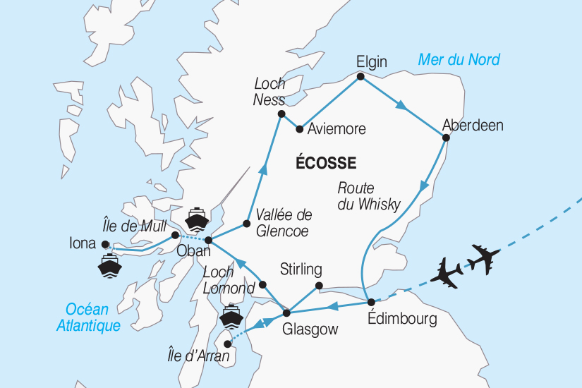 carte Ecosse L Ecosse entre Lochs et Highlands 2019_292 182589