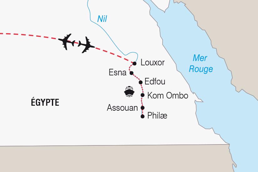 carte Egypte Noel ou Nouvel An sur le Nil_306 644234