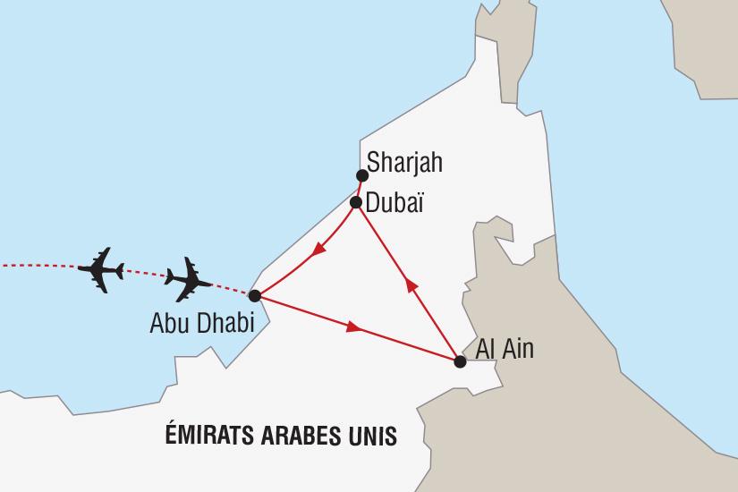 carte Emirats Arabes Unis Magie du Nouvel An a Dubai_306 263377