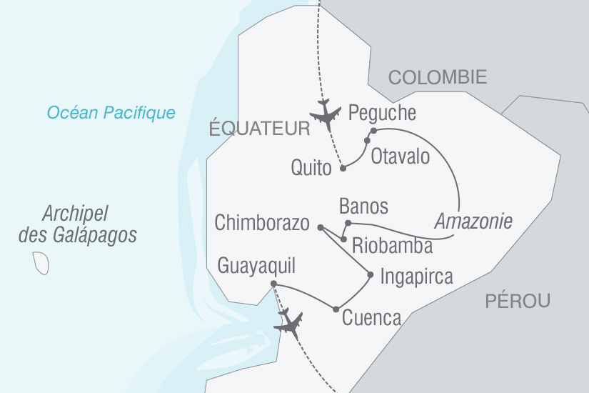 carte Equateur un vrai Voyage dans le Temps NT19 20_314 697243
