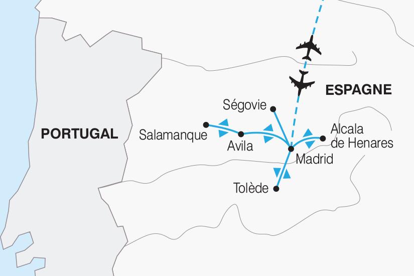 carte Espagne Des Chateaux en Espagne 2019_292 169633