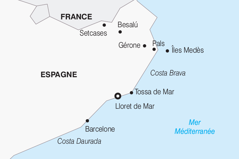 Voyage en autocar en Espagne : Découverte de la Costa Brava 7 jours - Nationaltours