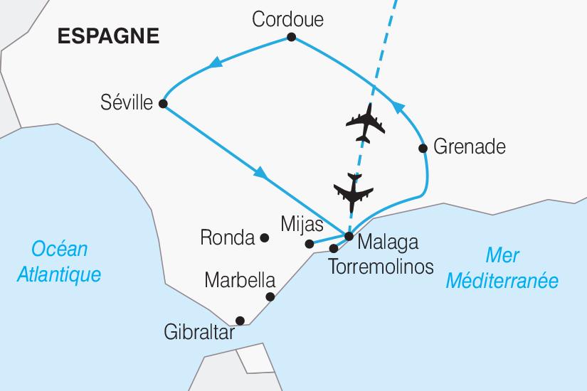 carte Espagne Les tresors d Andalousie 2019_292 176424