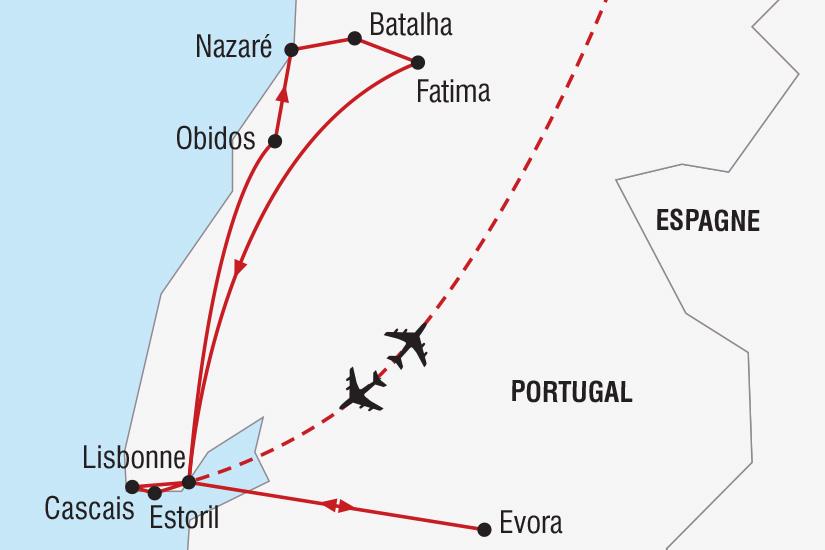 carte Espagne Saint Sylvestre a Lisbonne_306 828475
