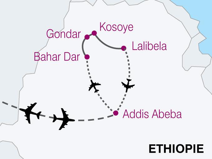 carte Ethiopie Traditions Cultures Amhariques  nthiver 705287