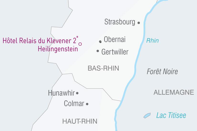 carte France Alsace Foret Noire 442224