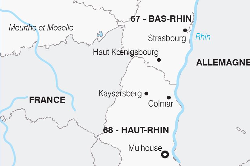 carte France L Alsace SH20_339 638049