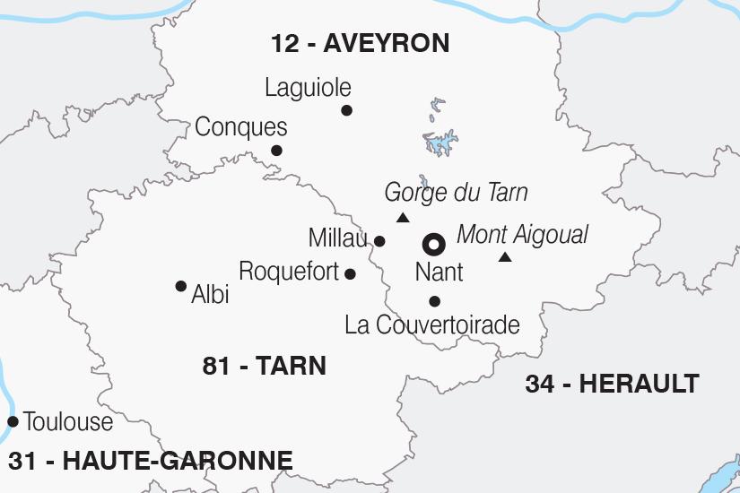 carte France L Aveyron les portes du soleil SH20_339 713064