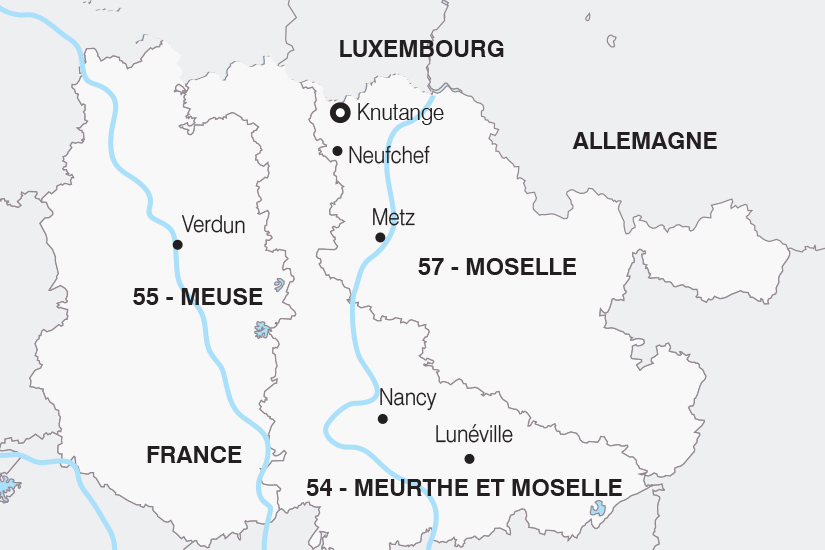 carte France La Lorraine sur les pas de l Histoire SH 21 22_382 898696