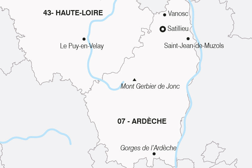 carte France Le Charme Ardechois SH 21 22_382 127203
