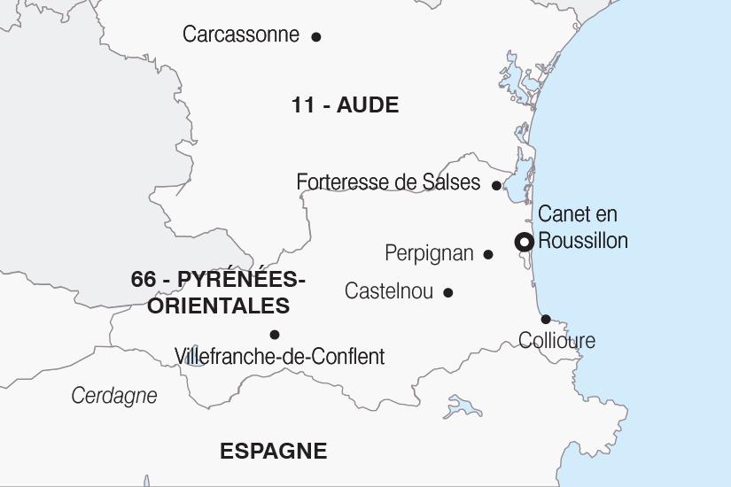 carte France Le Roussillon SH20_339 642022