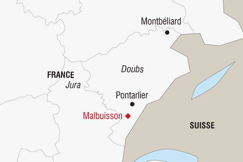carte France Noel dans le Jura_306 745369