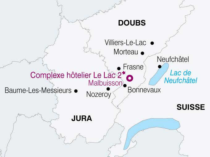 carte France Voyage Pays Jurassien  nthiver 723484