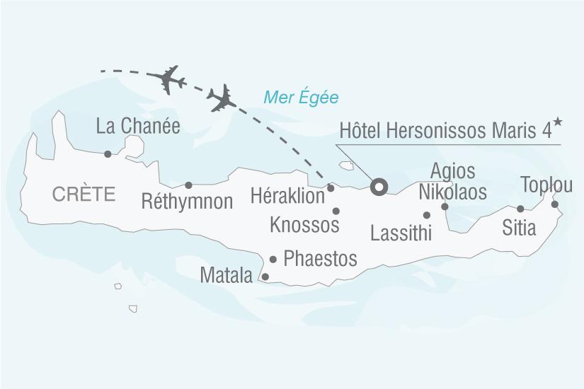 carte Grece Crete Hotel Hersonissos Maris nt 2019_293 880867